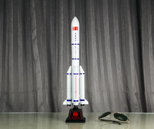 长征五号运载火箭模型1:100