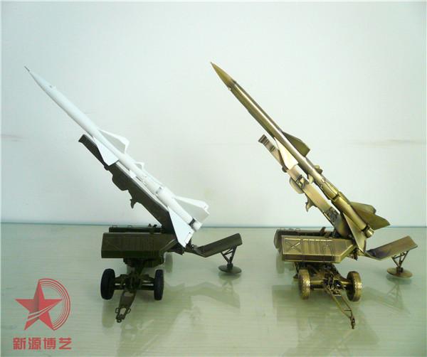HQ2 红旗地对空导弹模型-军事模型