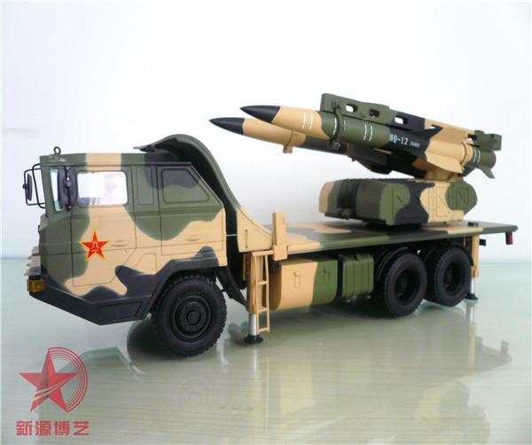 红旗-12地空导弹模型