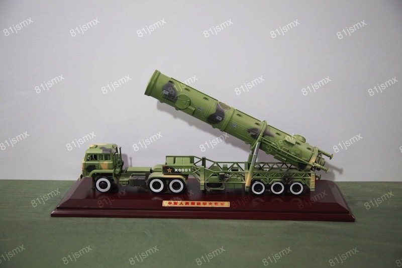 东风21A导弹车模型精装版
